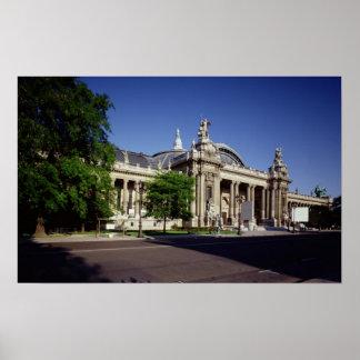 Facade of the Grand Palais Print