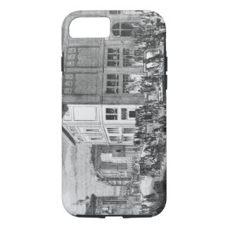 Facade of the Hotel Drouot, Paris, c.1852 (engravi iPhone 8/7 Case