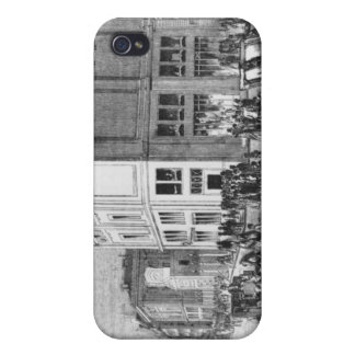 Facade of the Hotel Drouot, Paris, c.1852 (engravi Covers For iPhone 4