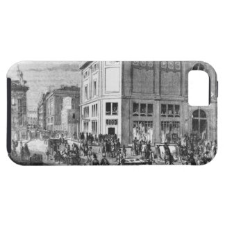 Facade of the Hotel Drouot, Paris, c.1852 (engravi iPhone SE/5/5s Case