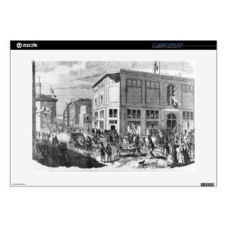 "Facade of the Hotel Drouot, Paris, c.1852 (engravi Skin For 15"" Laptop"