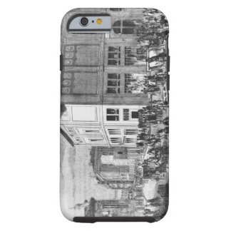 Facade of the Hotel Drouot, Paris, c.1852 (engravi Tough iPhone 6 Case