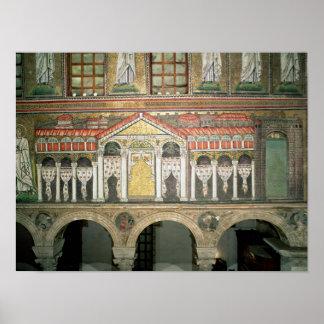 Facade of the Palazzo di Teodorico, 527-99 Posters