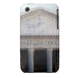 Facade of the Pantheon in Rome, Italy iPhone 3 Cover