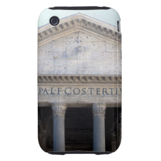 Facade of the Pantheon in Rome, Italy. iPhone 3 Tough Cover
