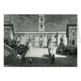 Facade of the Senatorial Palace, Rome Card