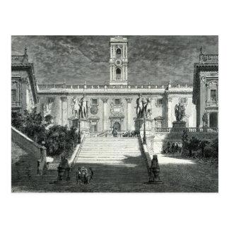 Facade of the Senatorial Palace, Rome Postcard