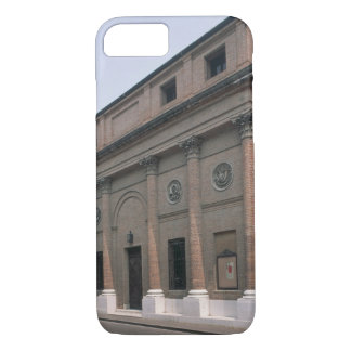 Facade of the Teatro Accademico (photo) iPhone 7 Case