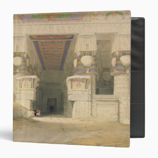 Facade of the Temple of Hathor Binder