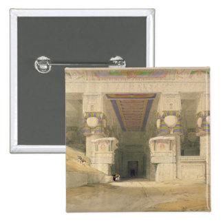 Facade of the Temple of Hathor Button