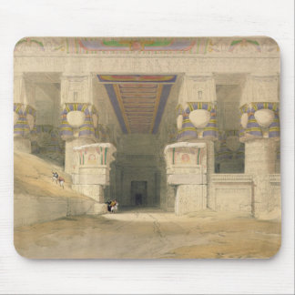 Facade of the Temple of Hathor Mouse Pad
