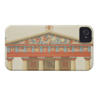 Facade of the Temple of Jupiter at Aegina (323-27 iPhone 4 Covers