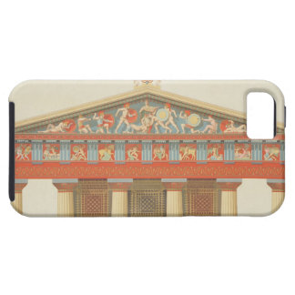 Facade of the Temple of Jupiter at Aegina (323-27 iPhone SE/5/5s Case