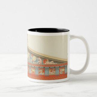 Facade of the Temple of Jupiter at Aegina (323-27 Coffee Mug