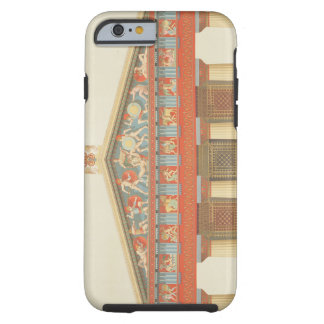 Facade of the Temple of Jupiter at Aegina (323-27 Tough iPhone 6 Case