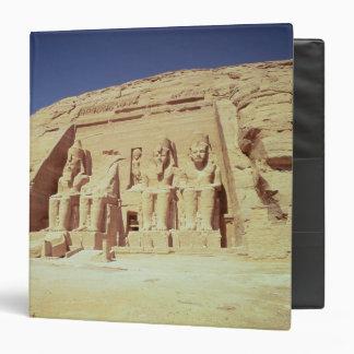 Facade of the Temple of Ramesses II Binder
