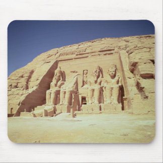 Facade of the Temple of Ramesses II Mouse Pad