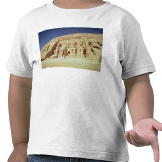 Facade of the Temple of Ramesses II Tshirts