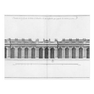 Facade on the Seine of Palais Bourbon Postcard