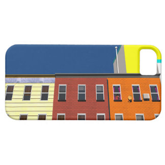 Facades of buildings in New York iPhone SE/5/5s Case