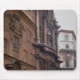 Facades of the church mouse pads