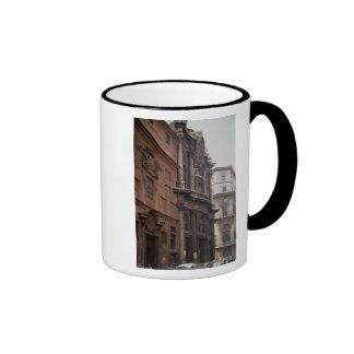 Facades of the church mugs
