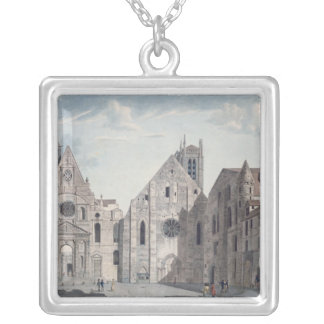 Facades of the Churches Silver Plated Necklace