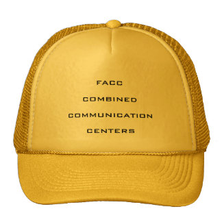 FACC COMBINED COMMUNICATION CENTERS TRUCKER HAT