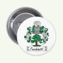 Facchinetti Family Crest Button