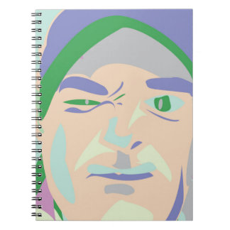 faccia brute spiral notebook