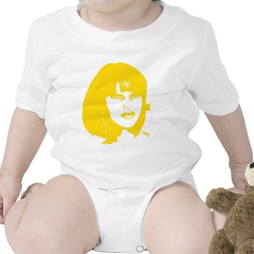 face2 amarillo camiseta