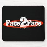 Face2Face logo mousepad