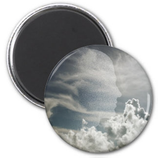 Face 2 Inch Round Magnet