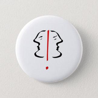 Face 2 pinback button