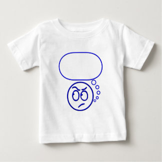 Face #5 (with speech bubble) baby T-Shirt