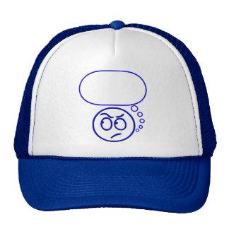 Face #5 (with speech bubble) trucker hat