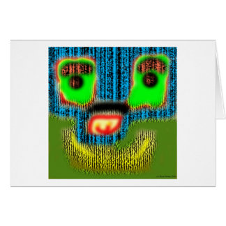 Face 8 greeting cards