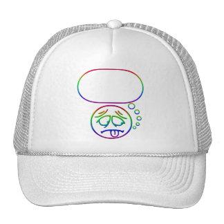 Face #8 (with speech bubble) trucker hat