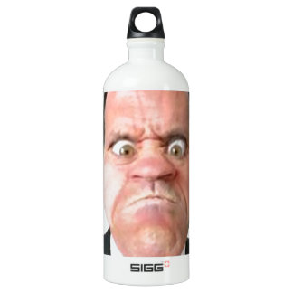 Face Aluminum Water Bottle
