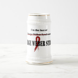 Face Beer Stein