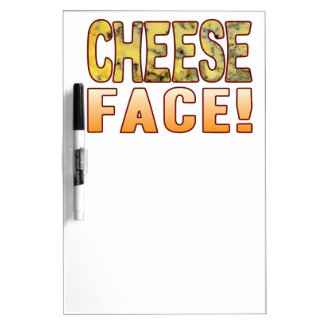 Face Blue Cheese Dry-Erase Board