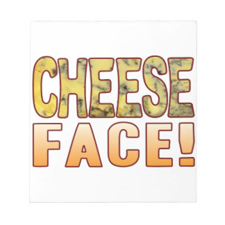 Face Blue Cheese Notepad