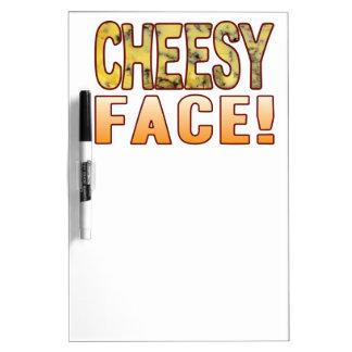 Face Blue Cheesy Dry-Erase Board