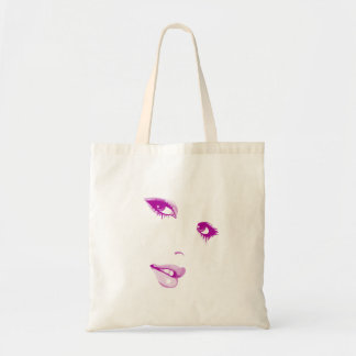 Face Budget Tote Bag
