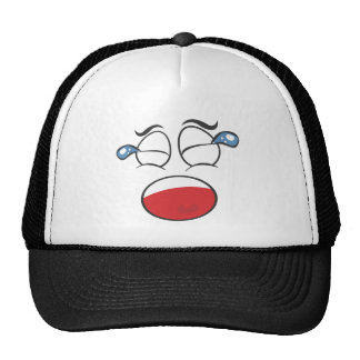 Face Cap. Crying Hat