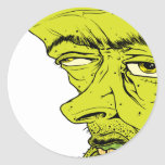 Face Classic Round Sticker