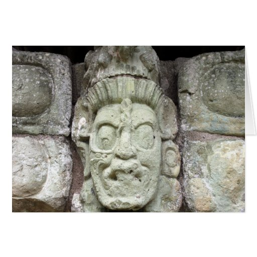 face copán greeting card