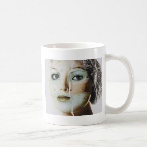 Face Cyber Creation Coffee Mug