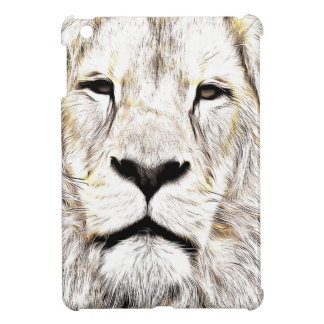 Face de leão Lion Face Löwen-Gesicht Face de Lion iPad Mini Case