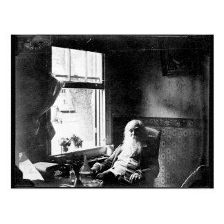❝Face de Walt Whitman siempre hacia el Sunshine❞ Postal